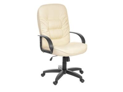 Кресло для руководителя Болеро Ультро Кожзам бежевый