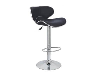 Барный стул Сатурн WX-2356 экокожа чёрный