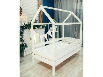Кроватка-Домик из массива