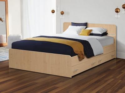 Кровать на уголках №5 с ящиками Матрица
