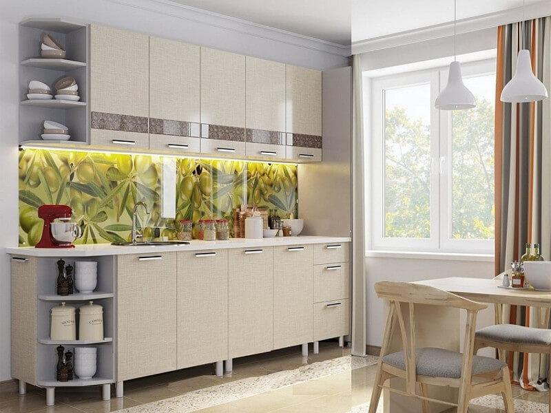 Кухня Лён Дополнительная комплектация
