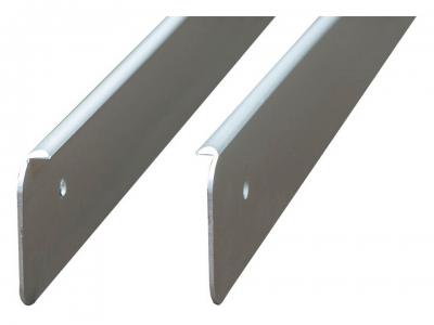 Профиль Торцевой алюминиевый для столешниц 40 мм ДО-012