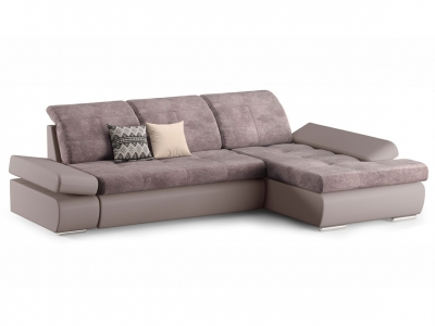 Угловой диван Сканди 2 Cortex/latte